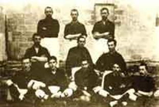 Bari: la prima formazione del 1908