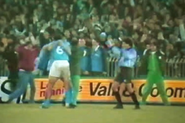 Napoli – Juventus 3-0 Coppa Uefa 1988/89 video e tabellino del match