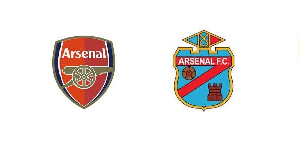 Squadre omonime: Arsenal d'Inghilterra e d'Argentina