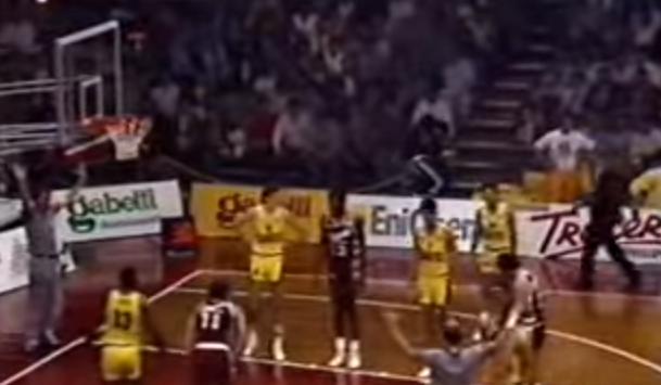 Philips Milano – Aris Salonicco la rimonta del secolo nel basket