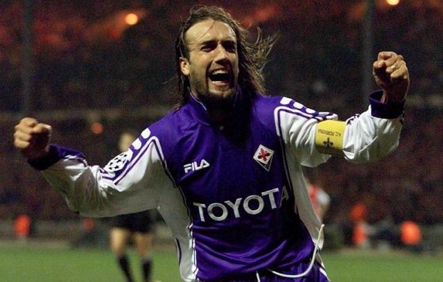 Arsenal-Fiorentina 0-1, Batistuta sbanca Wembley