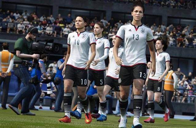 FIFA 16: la novità delle squadre femminili nei videogames