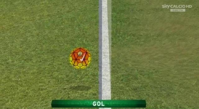 Simone Pepe: goal in Chievo-Roma inaugura goal-line technology
