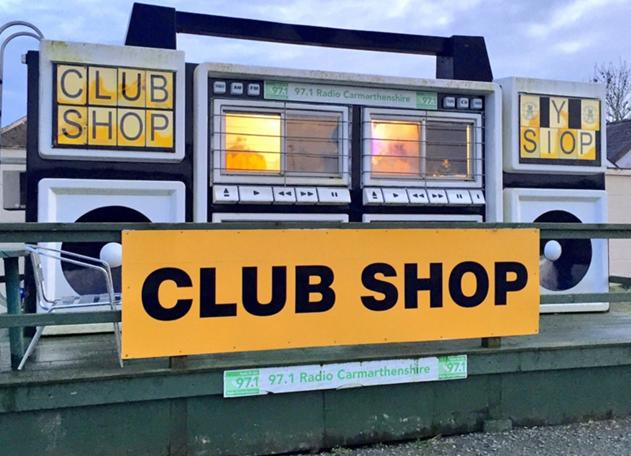 Il negozio di merchandising più cool del calcio è in Galles