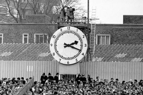 Lo storico orologio di Highbury