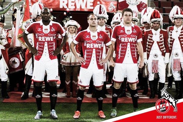Colonia indossa in Bundesliga maglia celebrativa di Carnevale