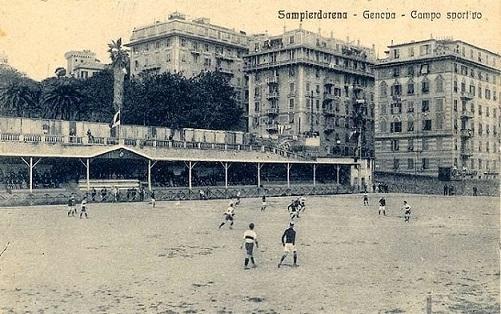 Sampdoria: quando giocava allo stadio di Villa Scassi – Anni Venti