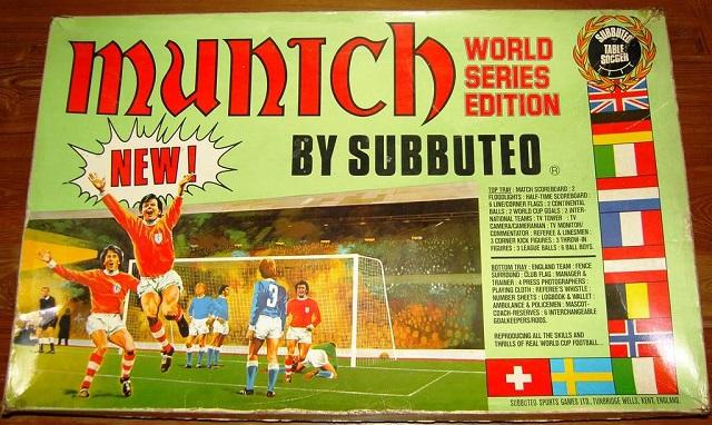 Munich: la scatola (introvabile) dei sogni del Subbuteo