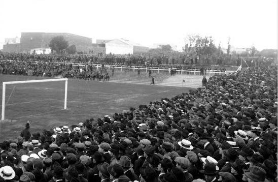 Pocitos: stadio della prima partita dei Mondiali di Calcio Uruguay 1930