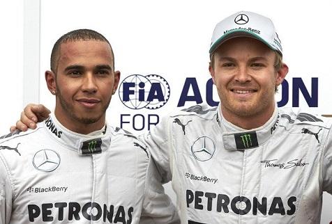 Hamilton-Rosberg, la Mercedes provoca il calciomercato con un tweet