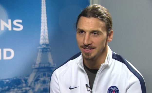 Zlatan Ibrahimovic al PSG