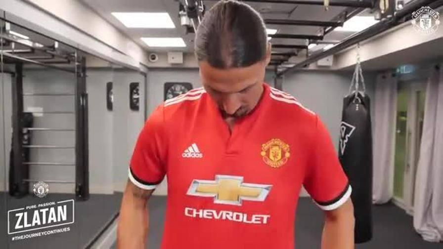 Ibrahimovic in maglia United