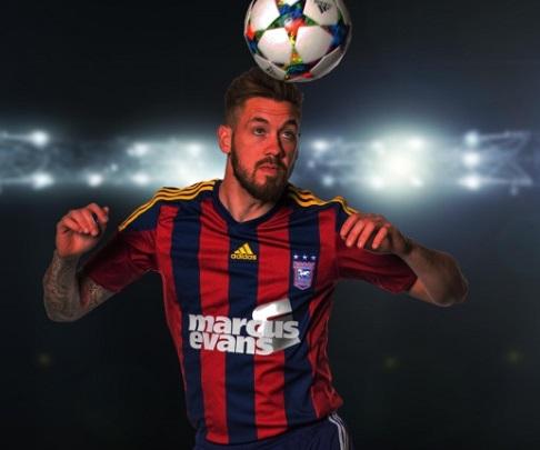 Ipswich Town: seconda maglia stile Barcellona