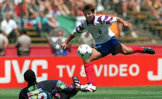 Oleg Salenko, il bomber con il record di goals in una partita dei Mondiali