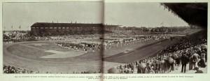 stadio colombes durante le Olimpiadi del 1924