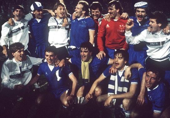 Everton – Rapid Vienna: il trionfo dei Toffies in Coppa Coppe 1985