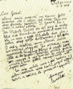 La lettera del 1905