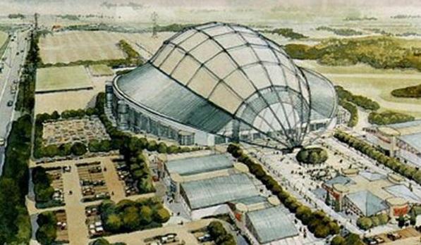 Kohler Dome, lo stadio astronave che non venne mai costruito