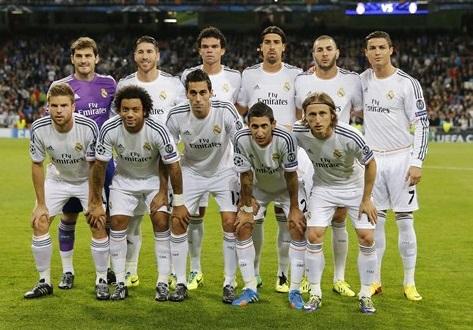 Formazione del Real Madrid