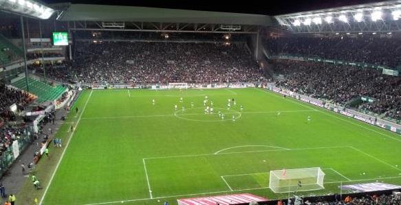 St Etienne: il nuovo stadio dei verdi di Francia pronto per Euro2016