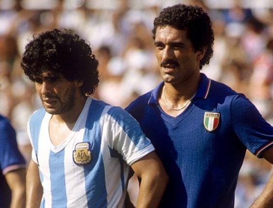 Maradona, il fenomeno appare a Spagna 82