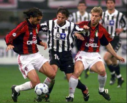 Milan-Juventus 2-0 1999/00: la svolta del campionato