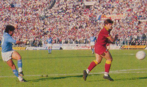 Roma-Napoli 0-1, Maradona lancia gli azzurri verso il primo scudetto (1987)