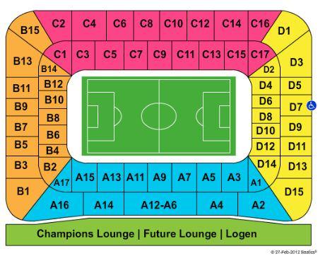 mappa dello stade de suisse di berna