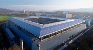 lo stade de suisse dall'alto