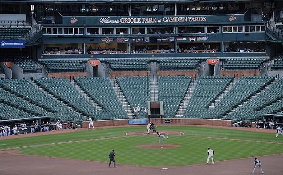 Anche il baseball USA gioca a porte chiuse: Orioles – White Sox