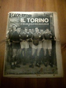 giornale il calcio illustrato grande torino