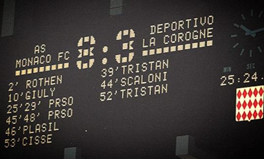 Monaco-Deportivo la Coruna: la partita con il record di goals in Champions League
