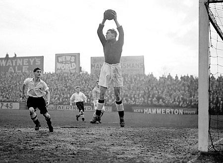 Frank Swift, il leggendario portiere del City caduto a Monaco 1958