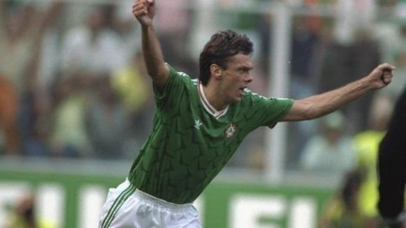 Irlanda-Romania: la Banda Verde vince ai rigori e va ai quarti di Italia90