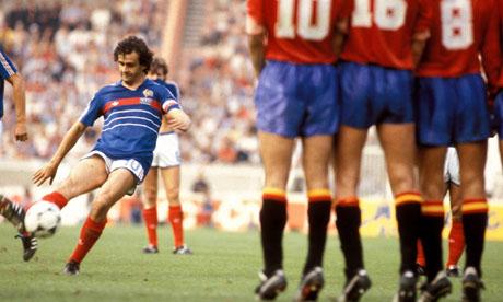 Euro 84: Francia – Spagna 2-0 ed i blues vincono il primo trofeo