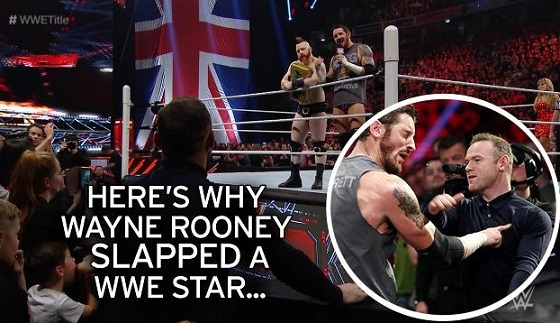 Rooney vs King Barrett, schiaffo sul ring della WWE