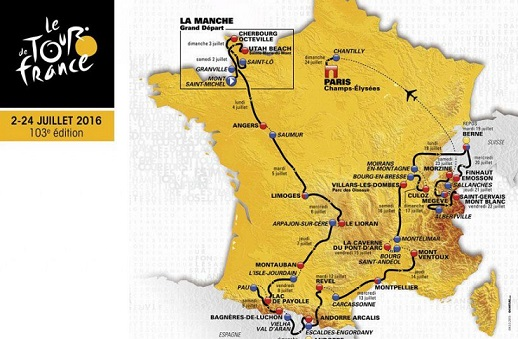 Tour de France 2016: il montepremi totale, la ripartizione