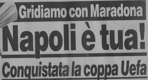 Stoccarda-Napoli 3-3 : azzurri vincono la Coppa Uefa 1988-89