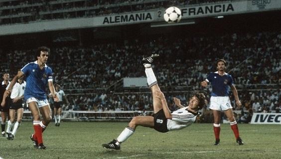 Germania – Francia: la semifinale drammatica di Spagna 82