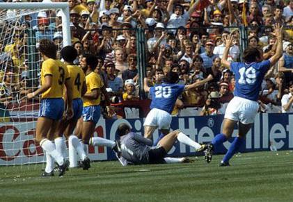 Italia – Brasile 3-2: Paolo Rossi diventa Pablito a Spagna 82