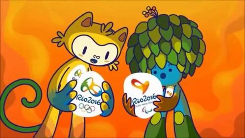 Vinicius e Tom, le mascotte delle Olimpiadi di Rio 2016