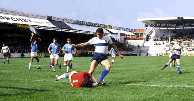 """Mondiali 1970: Italia-Israele e la """"gaffe"""" (presunta?) di Carosio"""