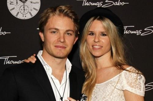 Wag and family: Vivian Sibold, moglie di Nico Rosberg