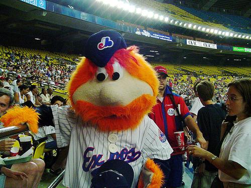 Youppi, la mascotte più fastidiosa (ed espulsa) dello sport americano