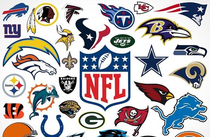 NFL: gli hashtags in Twitter delle 32 franchigie