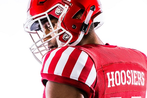 "Indiana University: la divisa da football ""candy"""