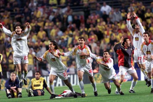 Coppa Uefa 2000: il primo trionfo del calcio turco, Galatasaray-Arsenal