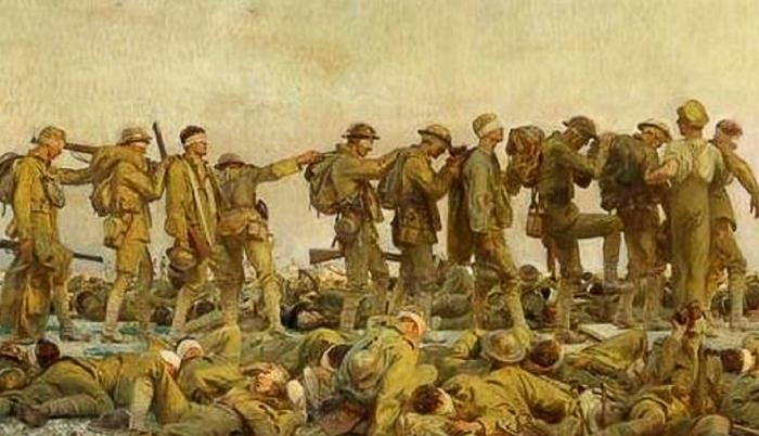 Quando una squadra ricorda le vittime di guerra