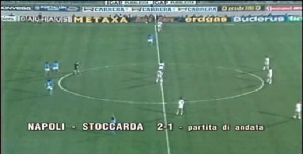 Coppa Uefa 1989: Napoli-Stoccarda 2-1, rimonta azzurra all'andata