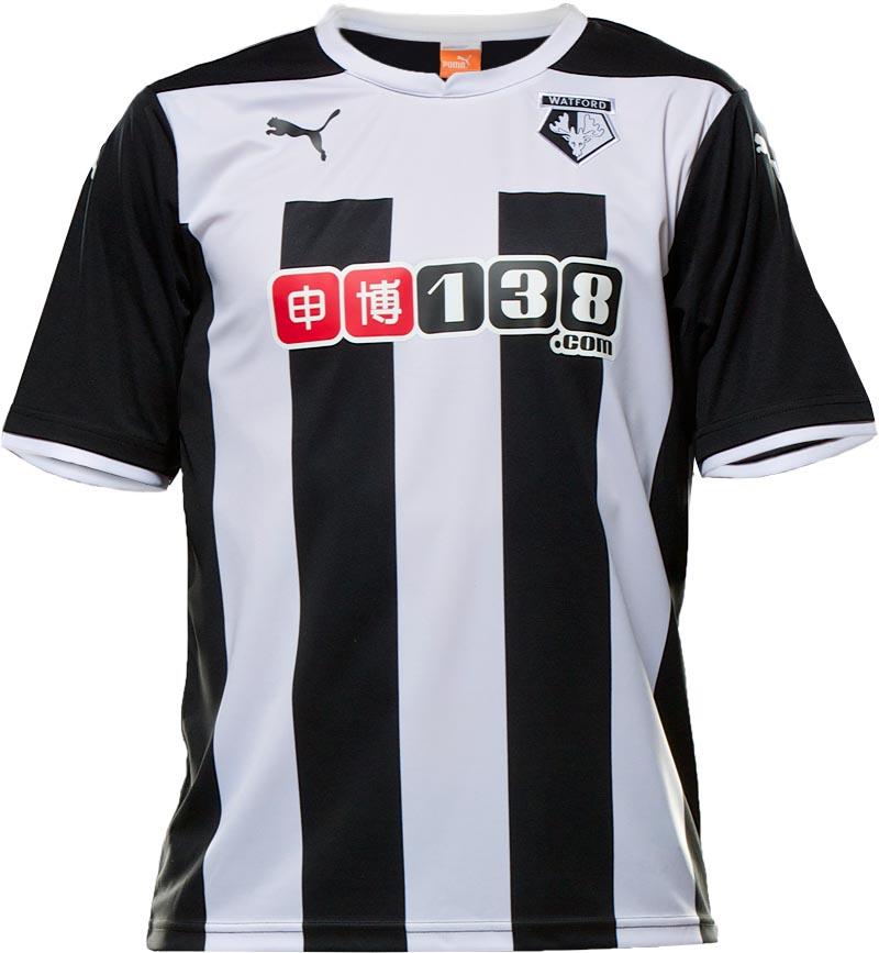 La maglia omaggio del Watford 2014-15